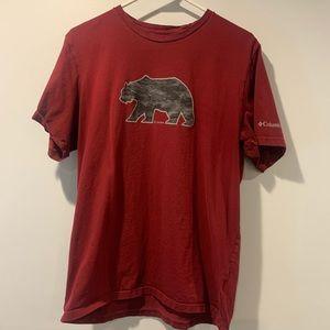 Columbia men's t-shirt size L